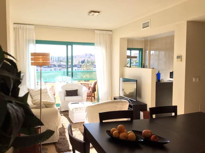 bright apartement,close to beach,Wifi,Airco