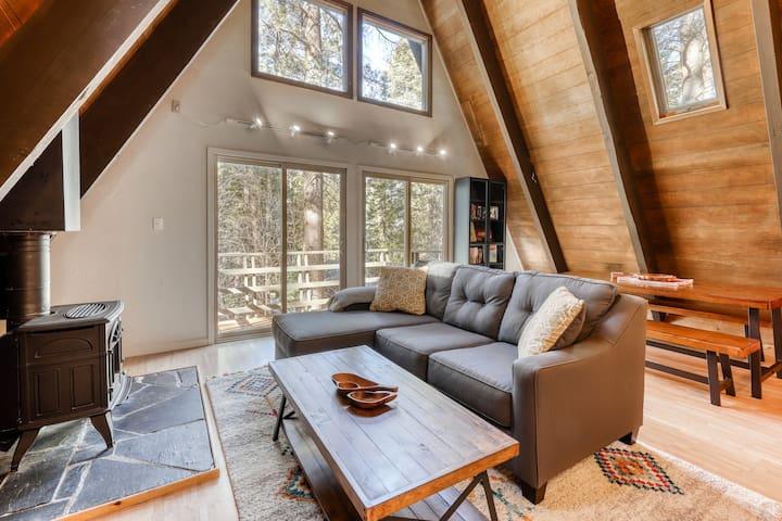 NEW LISTING! Modern, dog-friendly cabin - close to skiing, biking, golf, & lake!