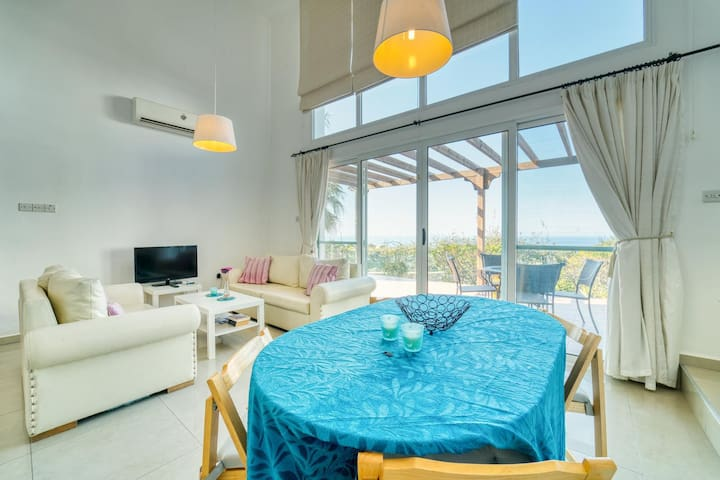 Joya Cyprus Sea Sunset View Garden Apartment