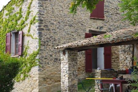 Maison de campagne - Châteauneuf-Val-Saint-Donat - Casa