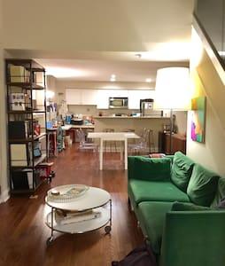 Sunny Lofted BD in Historic Philly - Philadelphia - Lägenhet