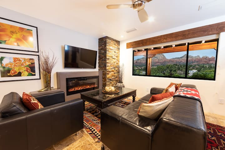 Picturesque Sedona Views, Pvt Open Suite #5