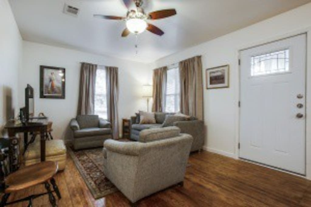 This home is small but very cozy. Exceptionally clean and updated.