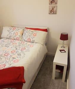 Cosy bedroom in quiet house
