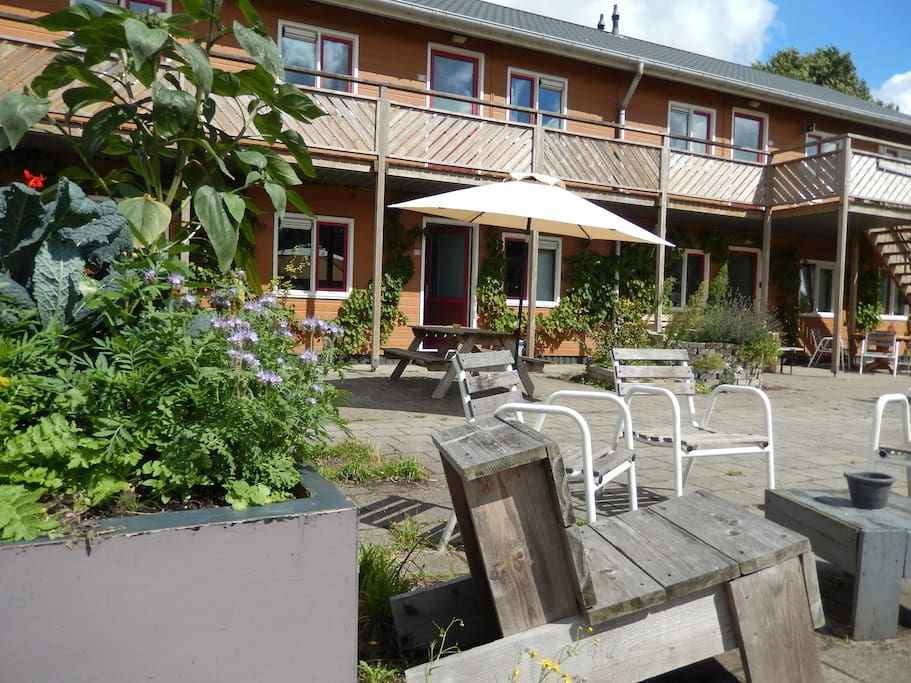 Amsterdam farm lodge 6 person apartment appartamenti in for Appartamenti in centro amsterdam