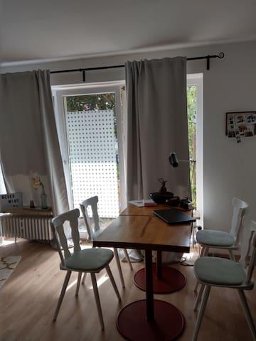 1,5 Zimmer Wohnung in Altstadtnähe