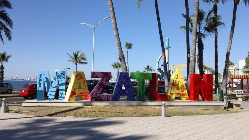 Habitación a media cuadra de la Playa y Olas Altas - Mazatlán