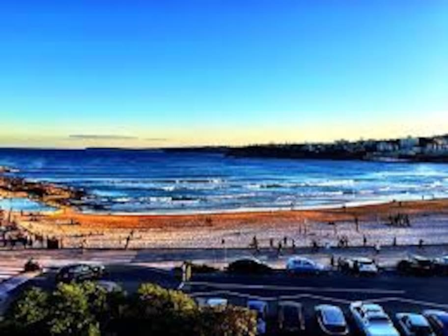 Sunset from North Bondi