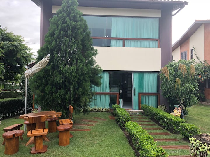 Casa confortável em Gravatá - Cond Solar Chamonix