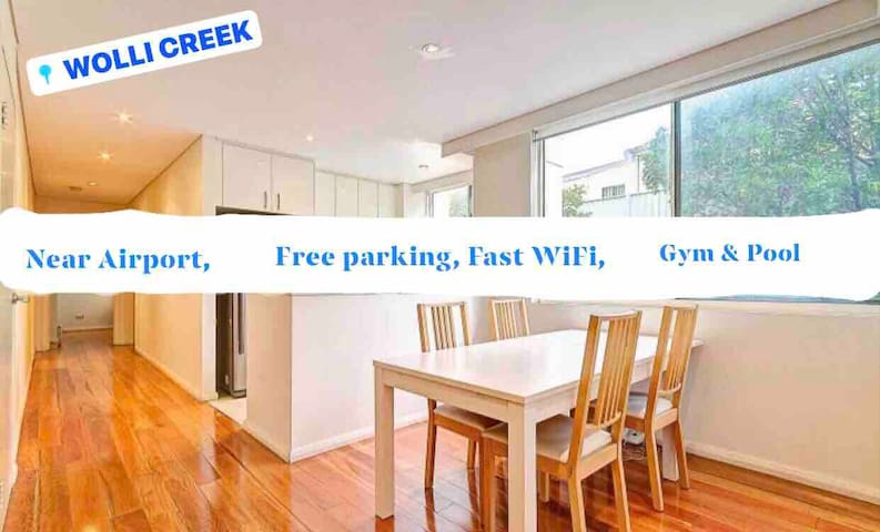 5min SYD airport MASTER+SECOND ROOM for 4 guest