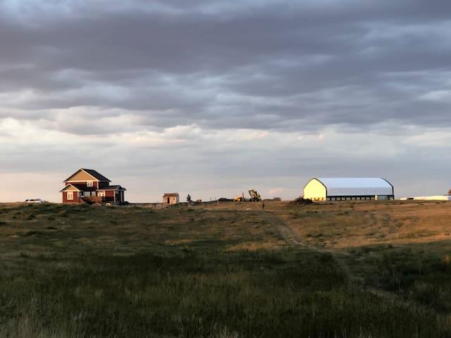 Hillside farmstay