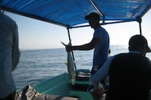 Panga Fishing trips available.