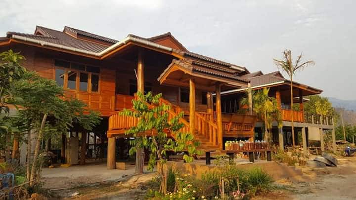 วังเหนือเฮ้าส์:Wangnuea House Homestay & Farm.