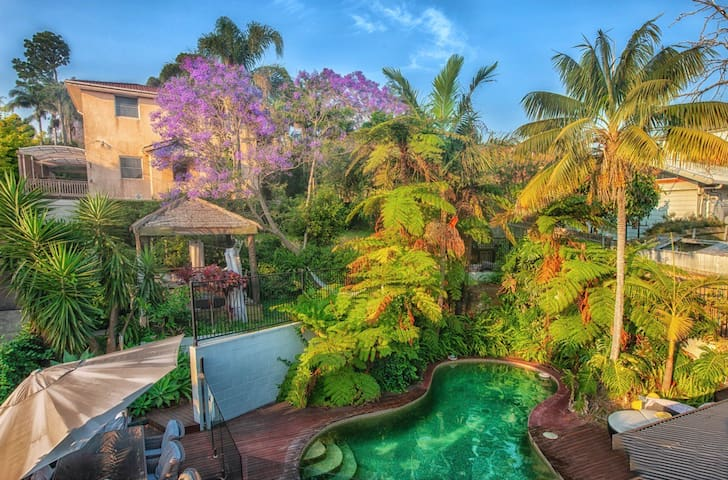 Your Own Bali with Pool only Mins from The Beach