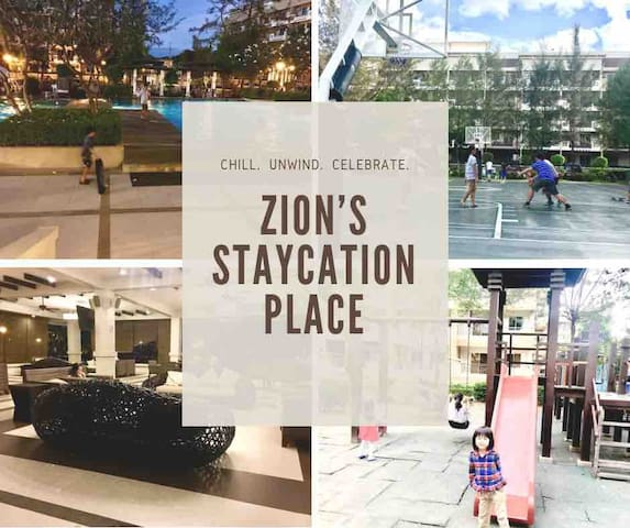Zion's Staycation Place(2 BR with Netflix)@ Taguig