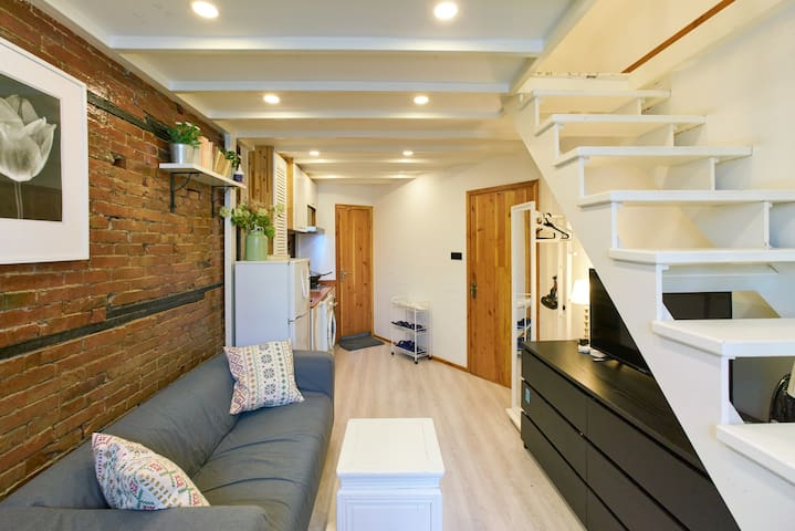 「Eady's」comfy  loft  located in city center/4ppl