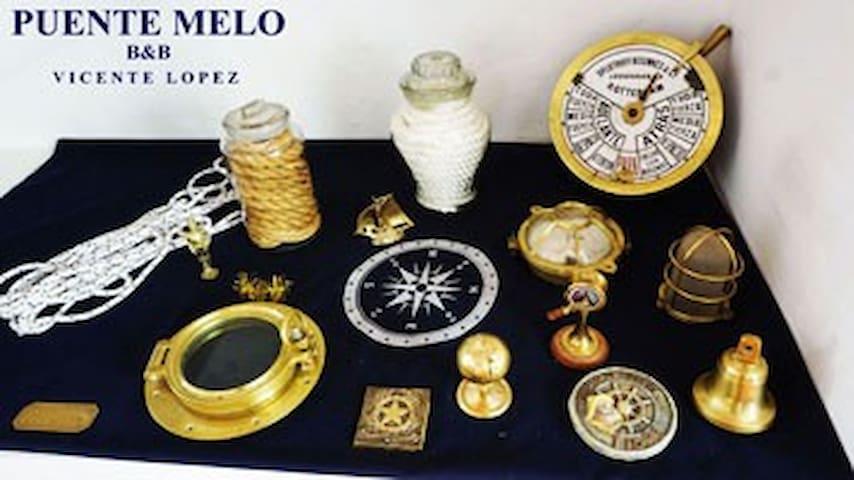 PUENTE MELO B&B - 11 pax U$ 260