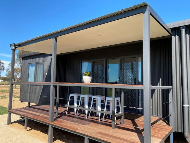 Private Cabin 2 near the Murrumbidgee River