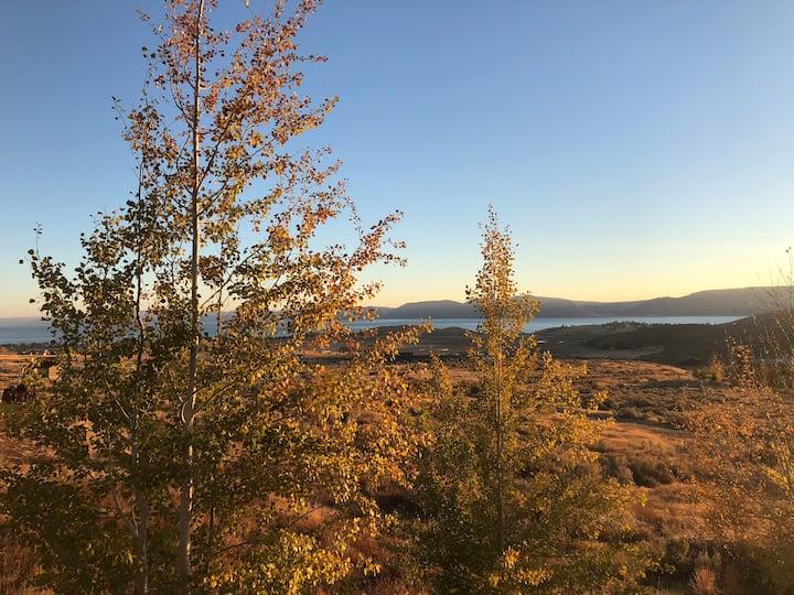 Aspen Sunrise at Bear Lake