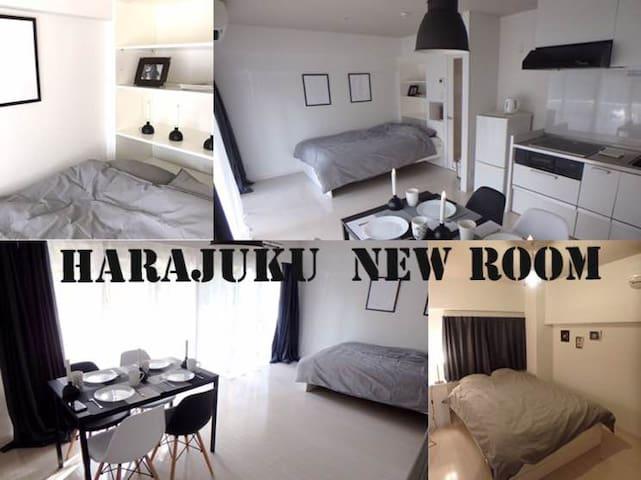 New★Harajuku central apartment! Great location! - Shibuya-ku - Huoneisto