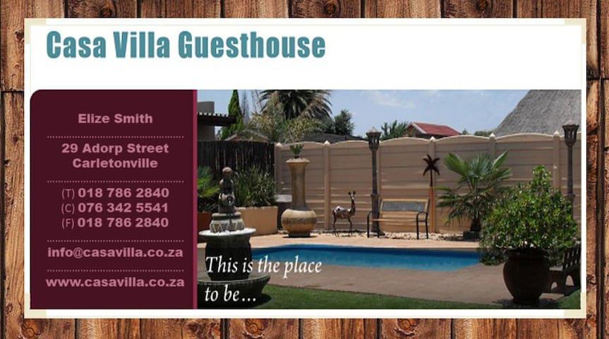 Casa Villa Guest House Carletonville