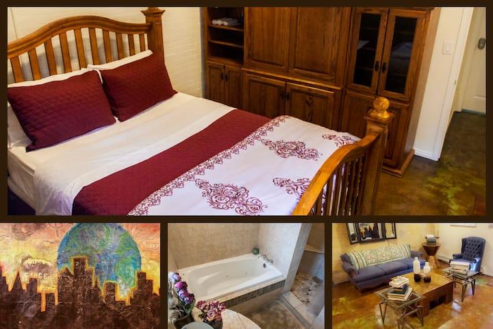 ▼ ˰Full Room, Lovely Basement Apt.