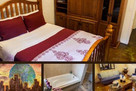 Private Room, Lovely Basement Apt. - Salt Lake City