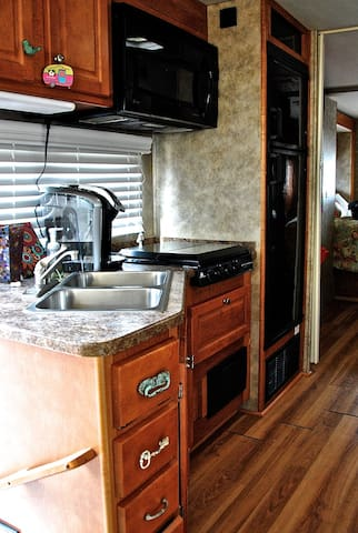 Connie - RV Tiny House at Community First Village