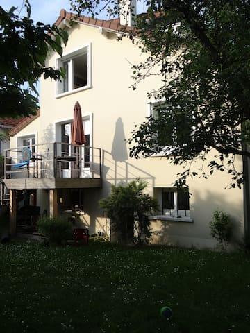 Maison au calme avec jardin - Ormesson-sur-Marne