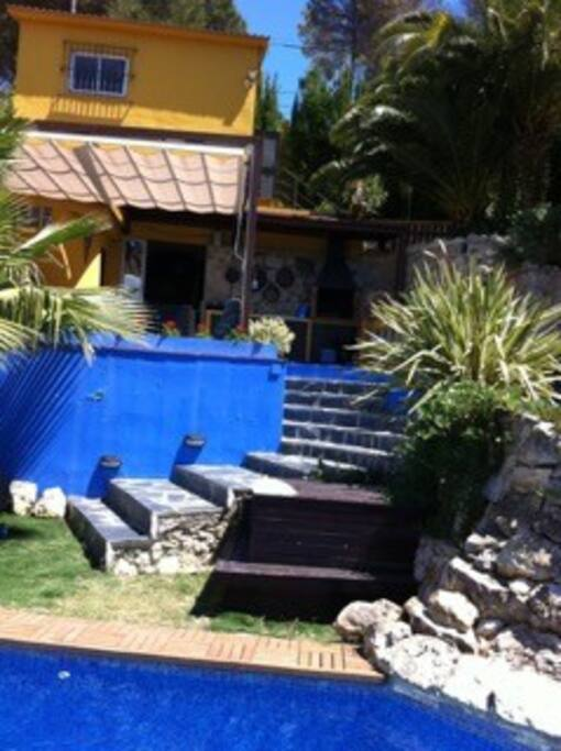 Area piscina climatizada
