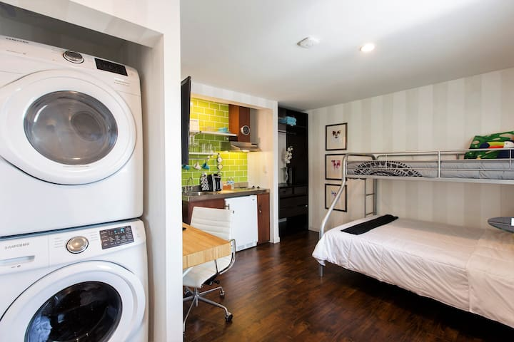 Brand New Studio with Pool, Laundry and More
