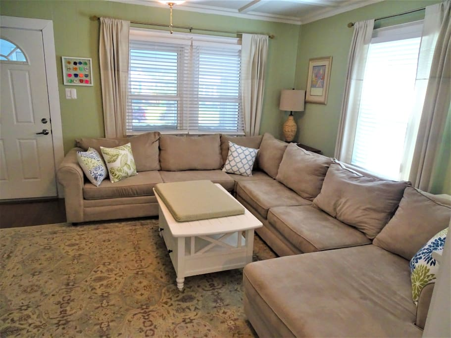 Big Sectional sofa in Living Room