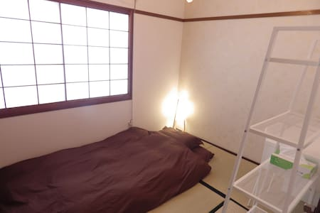 private room 402 ✧NO cleanig fee!✧ - fukuoka-shi - Gästhus