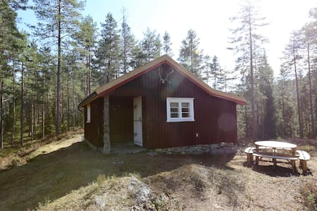 Trivelig skogshytte /Cozy cabin in the forest