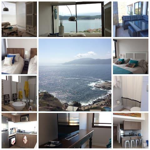 Depto en Punta Pite/vista al mar - Papudo - Квартира