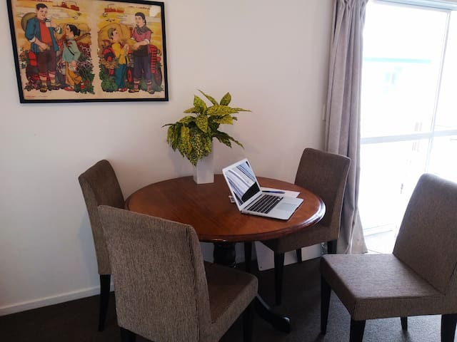 Dining, play or work area