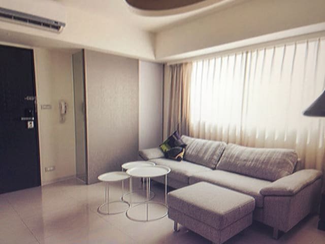 Duplex apartment easy bear theme - 基尔马诺克 - Lägenhet