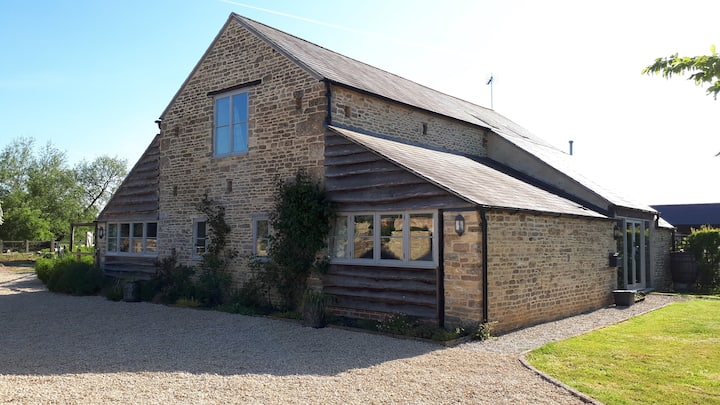 Smallholding Barn Conversion B&B - Double Bedroom.