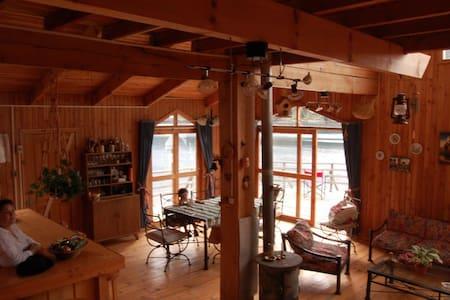 Se arrienda amplia cabaña en Lago Icalma - Temuco - Alojamento ecológico