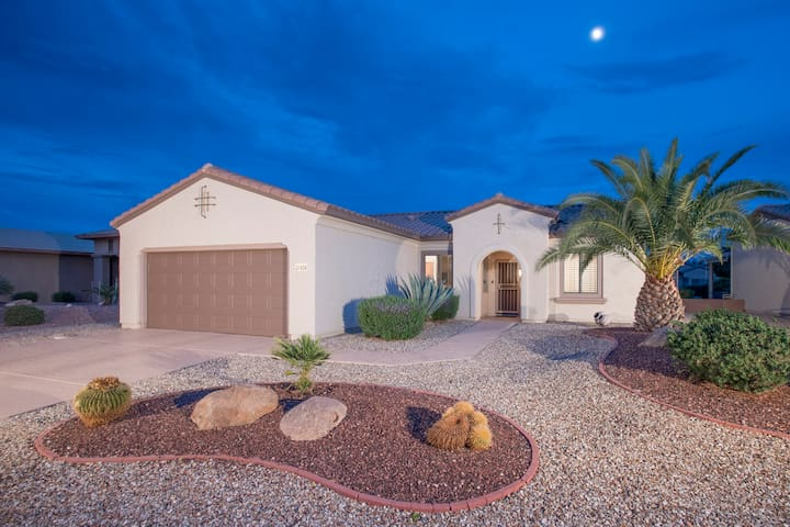 Wonderful Sun City Grand 3BR Home With Resort Style Backyard!
