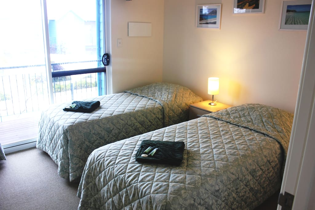 Bedroom 2 can be 2 king single beds or 1 King Double bed - Your choice.