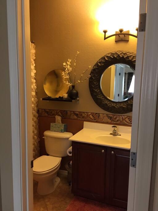 Stylish private bathroom
