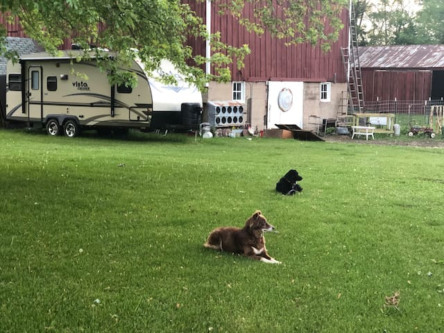 Prairie Oak Farm onsite RV rental