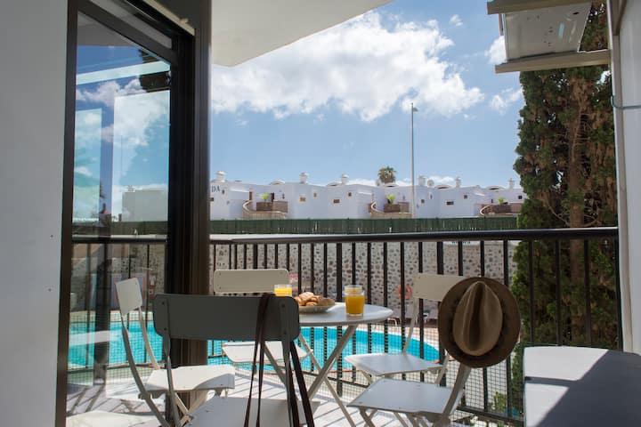 Apartamento Deluxe -Playa del Inglés- Wifi+Parking