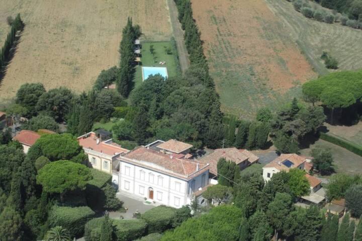 """Villa Tenute le Case Nouve """"Zimmer der Gräfin"""" - Rosignano marittimo - Villa"""