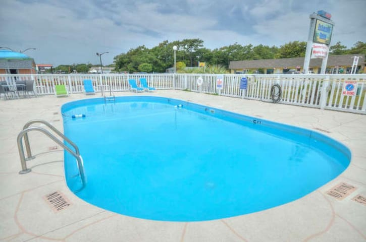 Oak Island Extended Stay 2BR Suite (120-121)