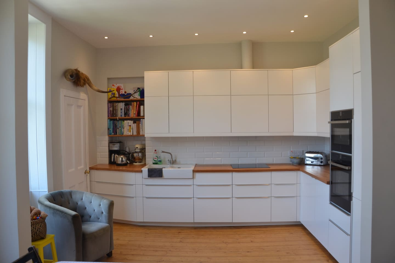 Kitchen with all modern appliances