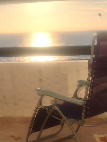 Magnifique appartement vue en front de mer - Asilah - Daire