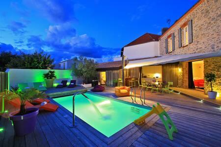 """Luxueuse villa 12 personnes - """"La Chaize"""" - Noirmoutier-en-l'Île"""