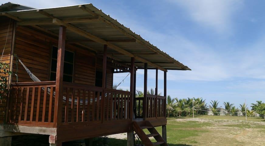 Cabaña Playera - Beach Front Cabin - Canoa - Cabin